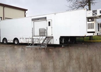 Three Operatory Dental Trailer